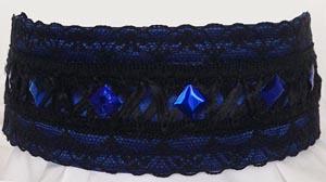 BlueBlackLaceSquareSequins300